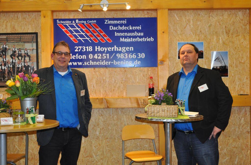Baumesse hoya 2014 for Schneider innenausbau